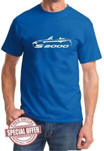 S2000 Sports Car Classic Design Tshirt NEW FREE SHIP