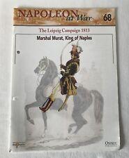 MARSHAL MURAT KING OF NAPLES LEIPZIG Napoleon At War Del Prado Magazine #68 ONLY