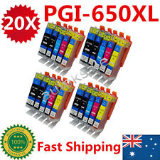 20X CLI 651 XL PGI 650 Ink Cartridge for Canon IP7260 MX726 MX926 MG5460 MG6360