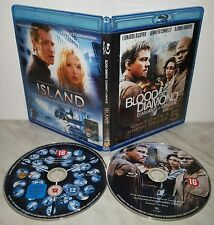 2 BLU-RAY BLOOD DIAMOND - THE ISLAND