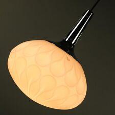 Peill & Putzler Pendel Leuchte Glas & Chrom Hänge Lampe Vintage 60er 70er AH 144