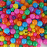 100PC Colorfull Soft Plastic Ocean Ball Funny Baby Kids Swim Pit Pool Toys 4 cm