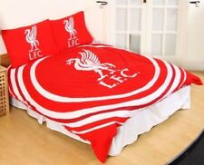 LIVERPOOL FC ROUGE IMPULSION Set Housse de couette double OFFICIEL FOOTBALL