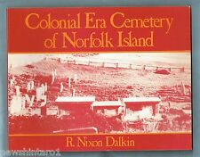 #Ll5. Australiana Book - Colonial Era Cemetery Of Norfolk Island