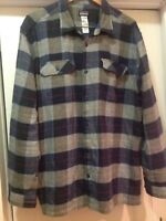 Patagonia Mens Shirt Sz XL Plaid