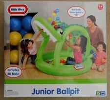 NEW Little Tikes Junior Ballpit Green Crocodile Alligator 641800