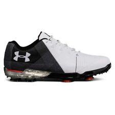 NEW Mens Under Armour Spieth 2 Golf Shoes White / Black Size 8 M