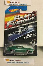 Fast & Furious * '72 Ford Grand Torino Sport Green * Hot Wheels * H14