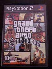 Grand Theft Auto San Andreas PS2 Empty Box