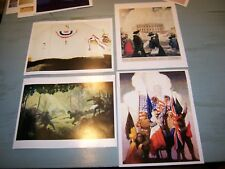 Set/4 Americana Prints by NC & James Wyeth Allies DC 1798 Infantry Sesquicetenni