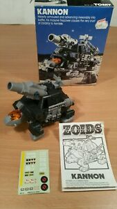 Vintage Tomy Zoids Kannon. Complete with box.