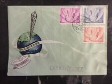 1960s Taipei China First Day Cover FDC Communications Complete Set