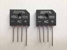 2x Brückengleichrichter KBU1010 1000V 10A