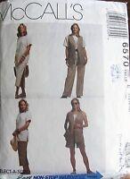 McCall's Sewing Pattern no. 6570 Ladies wardrobe size 14