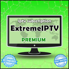 """""""6 Months"""" Extreme IPTV +20000 Ch&VODs WORLDWIDE """"PREMIUM"""" IPTV SUBSCRIPTION"""