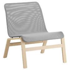 Sessel, Birkenfurnier grau,Stuhl,Sitz,