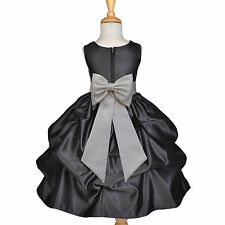 USA FREE SHIPPING HALLOWEEN PARTY HOLIDAY CHRISTMAS RECITAL FLOWER GIRL DRESS