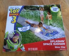 NEW Disney Toy Story Buzz Lightyear Splashin' Space Ranger Water Slide Toy NIP