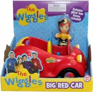 NEW THE WIGGLES BIG RED CAR PLAYSET