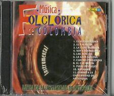 Musica Folclorica De Colombia  Latin Music CD New