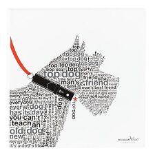 "Scottish Terrier Wall Decor / Picture - Wild About Words 12"" x 12"" - Scottie Dog"