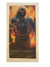 Disturbed Poster Double Sided Indestructable Promo