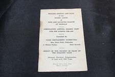 Vintage 1948 Masonic Manual and Code Of the Grand Lodge of Georgia-Code Suppleme