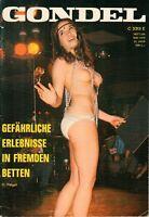 GONDEL - Heft 254 / 1970 - Männer Frauen Lifestyle Erotik - H14217