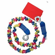 Elasticated Tow Rope with Snap Shackles & Flag 3000kg Rated Towing Strap