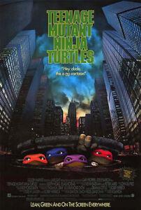 Teenage Mutant Ninja Turtles (1990) Movie Poster, Original, SS Unused NM, Rolled