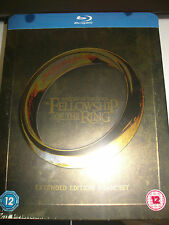 The Lord of the Rings: The Fellowship of the Ring (Blu-ray Disc, 2014) Steelbook