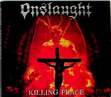 ONSLAUGHT- Killing Peace CD (2018 Digipak Reis) Extreme Noise Terror Desecration