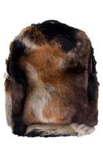 Jinscloset C.C Faux Fur Furry Mini Backpack Daypack School Shoulder Bag Handbag