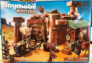 NIB PLAYMOBIL Western Set 5246 Goldmine (RETIRED)