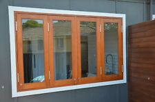 BIFOLD WINDOWS, SOLID CEDAR , 1770W X 1000H,FULLY BUILT READY TO FIT, PRE ORDER