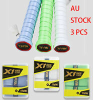 3 x Anti-slip Tennis Badminton Squash Racquet Over Grip Tape Overgrip Sweatband