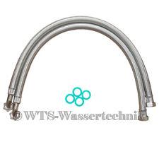 ANSCHLUSSSCHLÄUCHE 1000B flexibel Edelstahl für Wasserenthärtungsanlage 100 cm