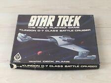 Star Trek D-7 Class Battle Cruiser Deck Plans FASA