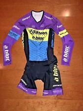 Jakroo Flash Custom LS Skinsuit - Size Small - Purple/Yellow/Blue