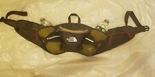 THE NORTH FACE Fanny Pack, FLIGHT SERIES Olive Green Two Bottle Holder Pre-owned
