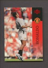 2003 Upper Deck UD Soccer #14 Cristiano Ronaldo RC Rookie Manchester United