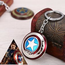 Hot Marvel Comics Super Hero Captain America The Avengers KeyRing Keychain