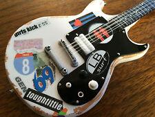 """Joan Jett & the Blackhearts """"Girls Kick Ass""""  Miniature Guitar -Limited Quantity"""