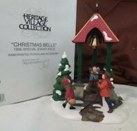 Dept 56 General Village Accessory 1996 CHRISTMAS BELLS Event Piece 98711 Retired