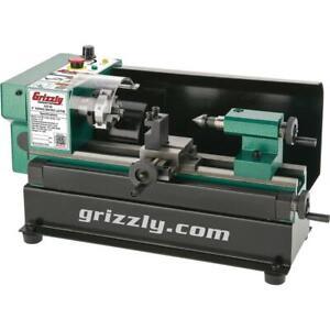 "Grizzly G0745 4"" x 6"" Micro Metal Lathe"
