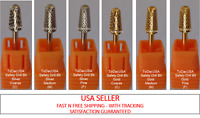 TDUSA CARBIDE NAIL DRILL BIT FOR PROS - SAFETY DRILL BITS