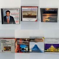 Lot Of 7 Symphony Orchestra CDs Classical Music