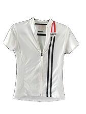 Womens Capo Italian Cycling Jersey, White Sz. S