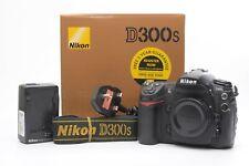 Nikon D300S 12.3MP Digital SLR DSLR Camera - Black (Body only) - Complete in Box