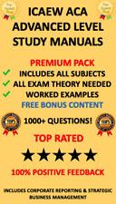 ICAEW ACA Advanced Level Study Manuals 2020 Download